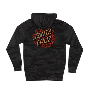 Santa Cruz Mens Bouquet Dot Pullover Hoodie 44252122