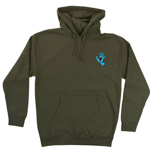 Santa Cruz Mens Screaming Mini Hand Pullover Hoodie 44251790