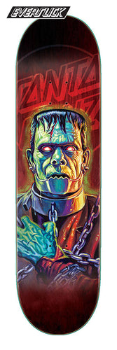 Santa Cruz The Worst Frankenghost Everslick 8.5in x 32.2in Skateboard Deck