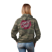Load image into Gallery viewer, Santa Cruz Womens Bouquet Dot Pullover Hoodie 44252117