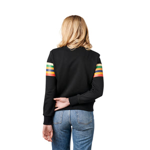 Santa Cruz Womens Stripe Strip Crew Neck Sweatshirt 44252021