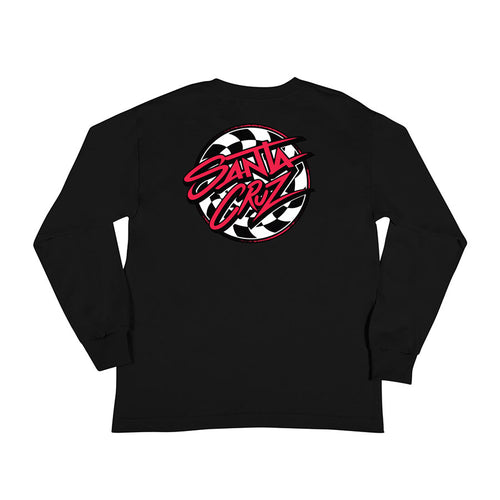 Santa Cruz Youth Burndown Long Sleeve T-Shirt 44154762