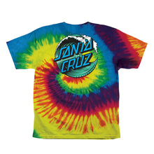 Load image into Gallery viewer, Santa Cruz Youth Wave Dot Short Sleeve T-Shirt 44153241