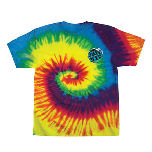 Santa Cruz Youth Wave Dot Short Sleeve T-Shirt 44153241