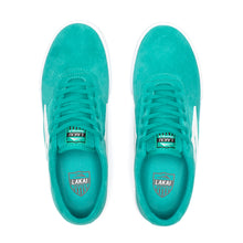 Load image into Gallery viewer, LAKAI MENS SHEFFIELD TEAL SUEDE MS3190101A00-TEALS