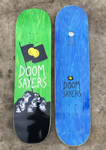 Doomsayers Skull Flag Skateboard Deck