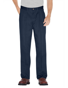 DICKIES MENS RELAXED FIT PLEATED FRONT PANT WP114
