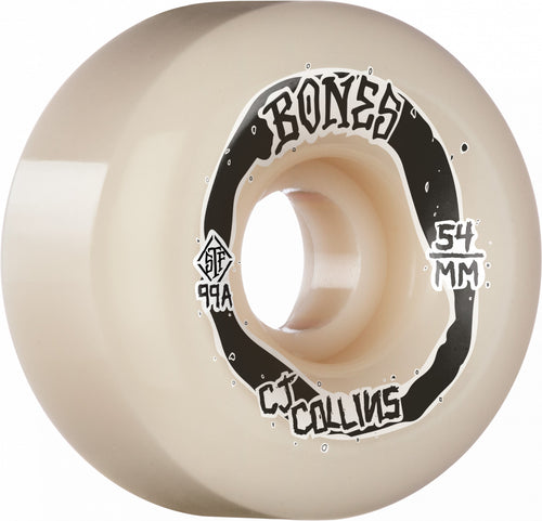 Bones Wheels Collins Swirkle 54mm 99A Wide-Cut