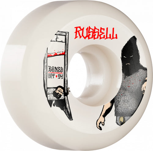 Bones Wheels Russell Executioner 54mm 84B Sidecut