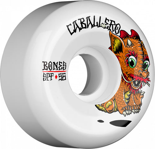 Bones Wheels Caballero Baby Dragon 56mm 84B Sidecut