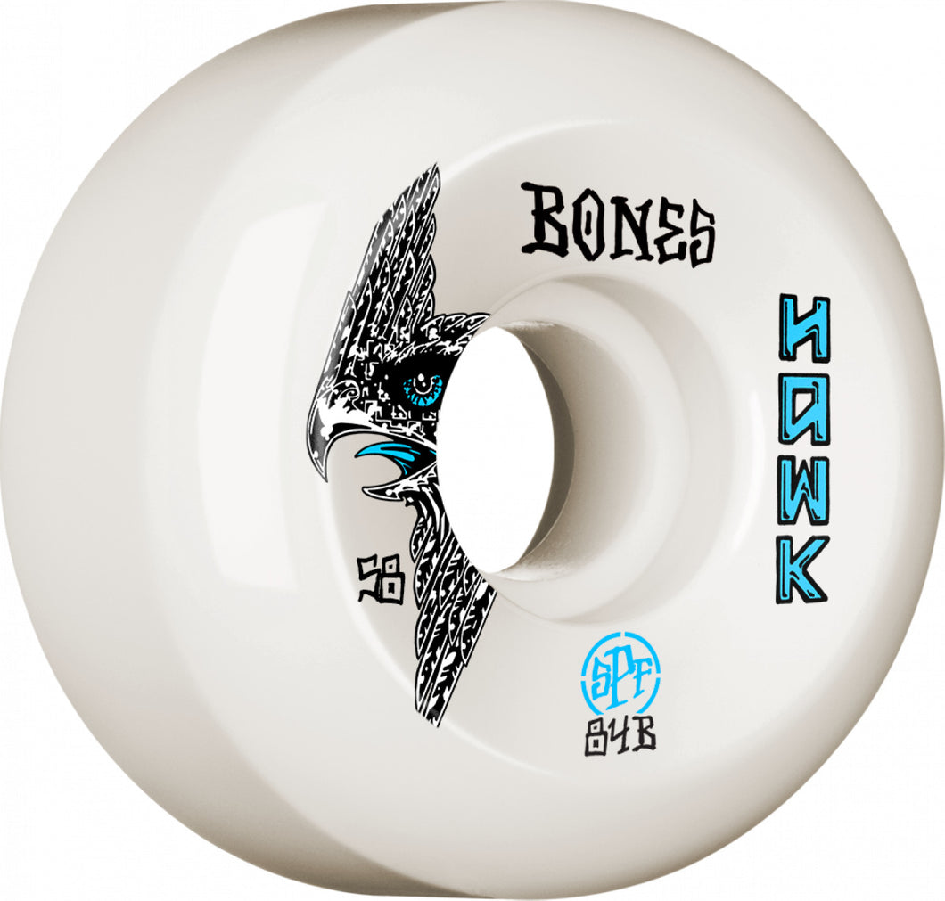 Bones Wheels Hawk Bird's Eye 58mm 84B Sidecut