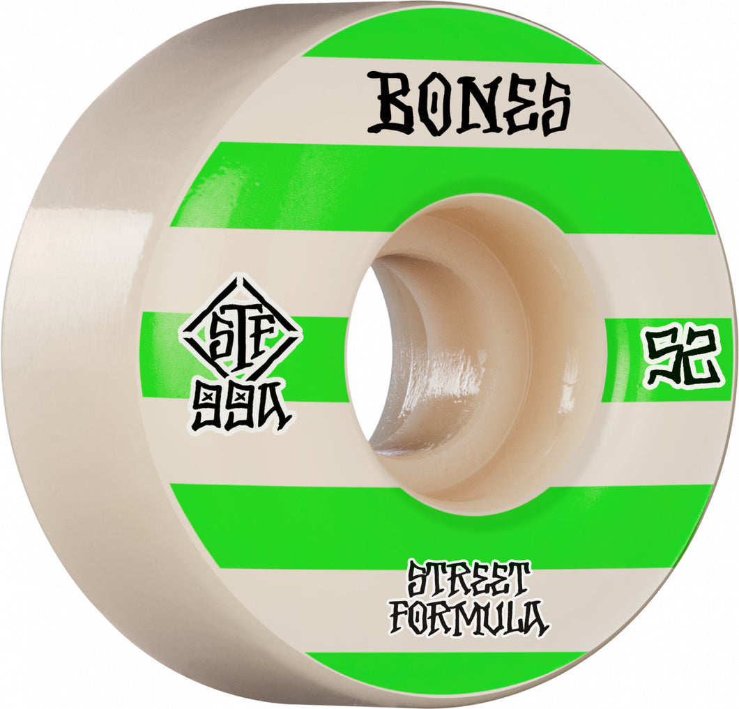 Bones Wheels Patterns 52mm 99A Wide