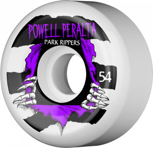 Powell Peralta Park Ripper 2 54mm 104A White