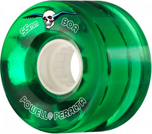 Powell Peralta Clear Cruisers 55mm 80A Green