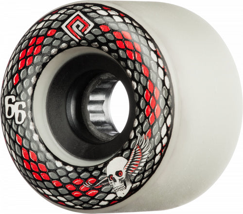 Powell Peralta Snakes 66mm 75A White