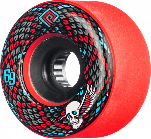 Powell Peralta Snakes 69mm 75A Red