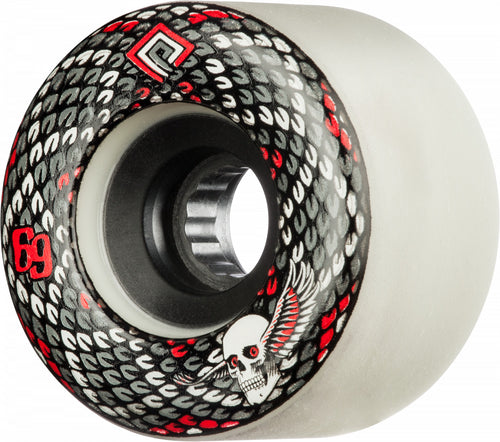 Powell Peralta Snakes 69mm 75A White