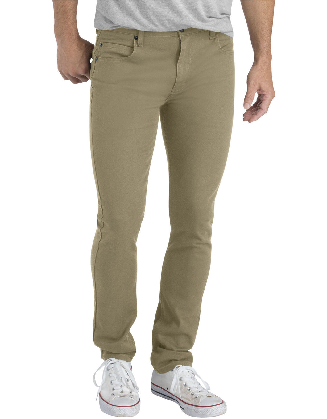 DICKIES MENS SLIM FIT SKINNY LEG 5-POCKET PANT XD810