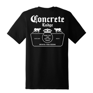 Concrete Lodge - Pass the lime not the virus - Short Sleeve Shop T-Shirt - Multi-Color