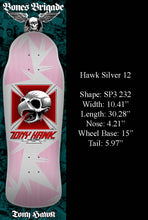 Load image into Gallery viewer, Powell Bones Brigade Tony Hawk Silver 12 Reissue Deck