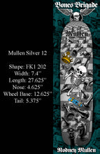Load image into Gallery viewer, Powell Bones Brigade Rodney Mullen Silver 12 Reissue Deck