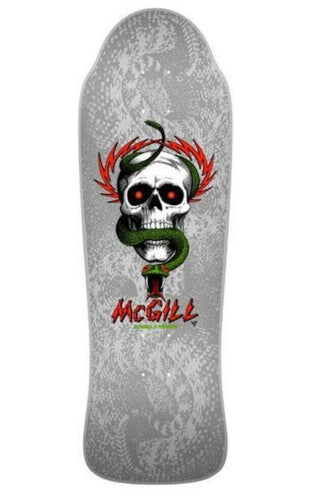 Powell Bones Brigade Mike McGill Silver 12 Reissue Deck