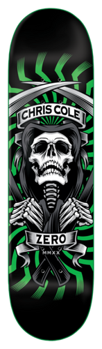 Zero Skateboards Cole - MMXX Reaper Skateboard Deck w/mob