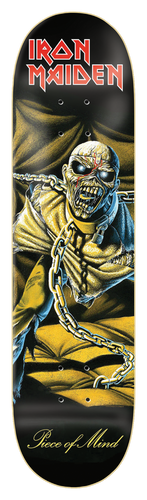 Zero Iron Maiden - Piece Of Mind Skateboard Deck