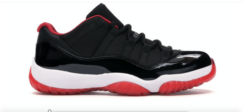 JORDAN 11 RETRO LOW BRED