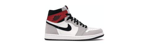 JORDAN 1 HIGH LIGHT SMOKE GREY