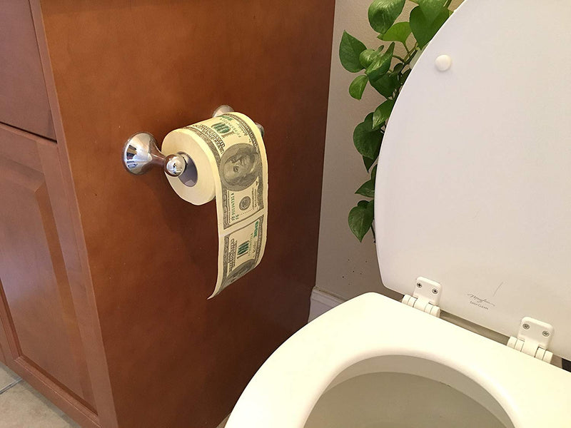 The Money Toilet Paper