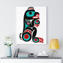 "Load image into Gallery viewer, Bear on Canvas 24"" x 30"""
