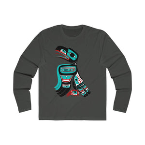 Raven Men's Long Sleeve Crew Tee