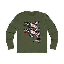 Load image into Gallery viewer, Killer Whale Men's Long Sleeve Crew Tee
