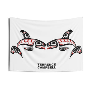Killer Whale Indoor Wall Tapestry