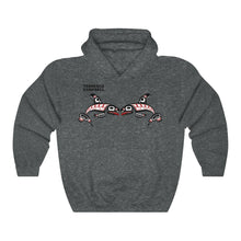 Load image into Gallery viewer, Raven and Killer whale Unisex Heavy Blend™ Hooded Sweatshirt