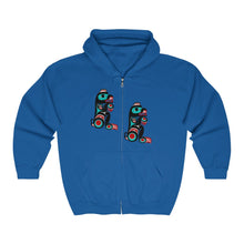 Load image into Gallery viewer, Bear Unisex Heavy Blend Full Zip Hooded Sweatshirt