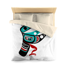 Load image into Gallery viewer, Hummingbird Microfiber Duvet Cover
