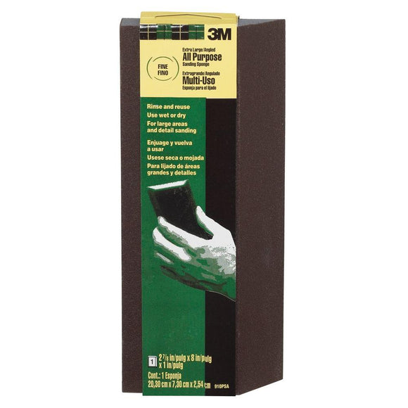 3M Pro-Pad Fine and Medum-Grit Extra Large Sanding Sponge - Denali Building Supply