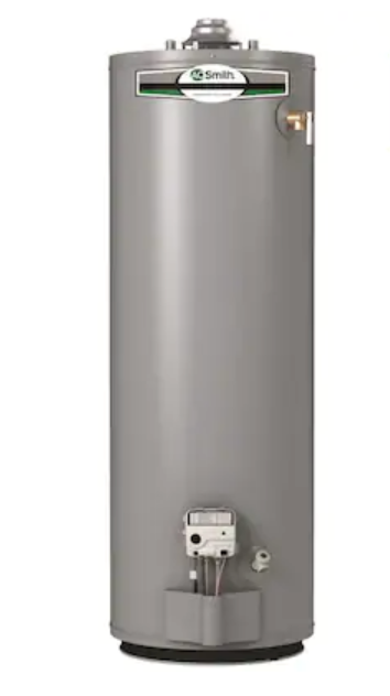 A.O. Smith Signature 40-Gallon Tall 6-Year Limited 35500-BTU Natural Gas Water Heater