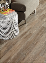 Load image into Gallery viewer, Style Selections 6-in x 36-in Driftwood Vinyl Plank Flooring