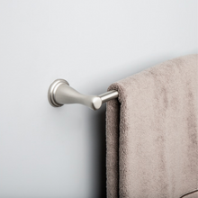 Load image into Gallery viewer, Style Selections Bailey 18-in Brushed Nickel Wall Mount Single Towel Bar