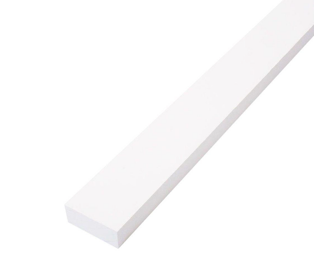 Trim Board Primed Finger-Joint (Common: 1 in. x 2 in. x 8 ft.; Actual: .719 in. x 1.5 in. x 96 in.)