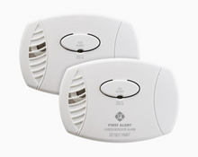 Load image into Gallery viewer, First Alert 2-Pack Battery-Operated Carbon Monoxide Detector