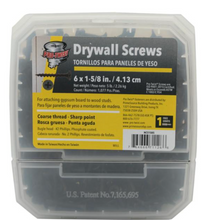 Load image into Gallery viewer, #6 x 1-5/8 in. Phillips Bugle-Head Coarse Thread Drywall Screw (5 lbs./Pack)