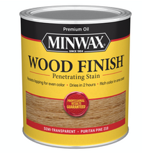 Load image into Gallery viewer, Minwax  Wood Finish Semi-Transparent Puritan Pine Oil-Based  Wood Stain 1 qt.
