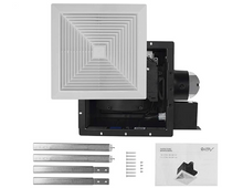 Load image into Gallery viewer, BV Ultra-Quiet 90 CFM, 0.8 Sone Bathroom Ventilation & Exhaust Fan