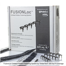 Load image into Gallery viewer, FUSIONLoc Collated Hidden Fastening System For TimberTech Decking - Stainless Steel - 225 Sq Ft