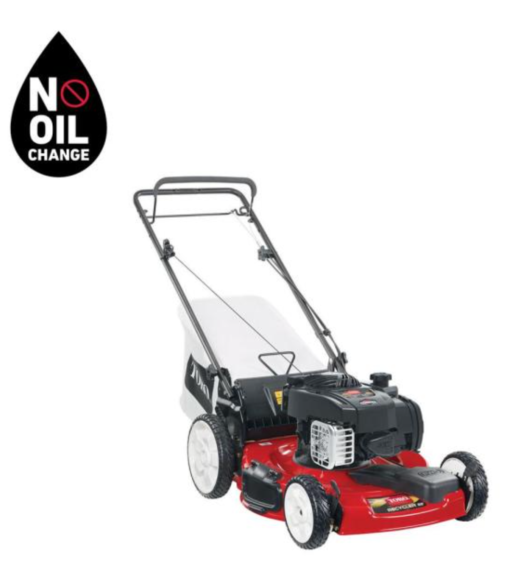 Recycler 22 in. Briggs & Stratton High Wheel Variable Speed Gas Walk Behind Self Propelled Lawn Mower with Bagger by Toro