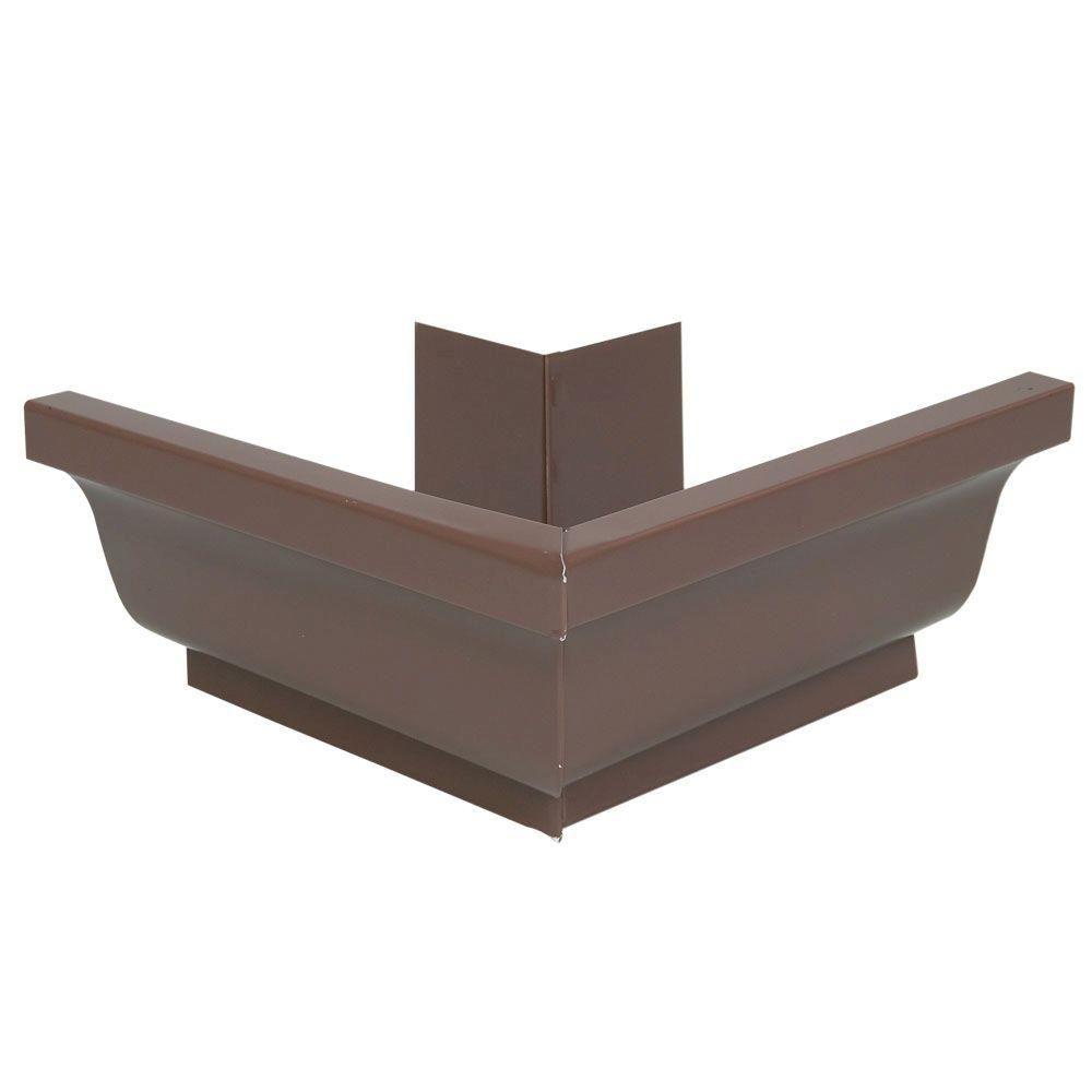 5 in. Aluminum Outside Mitre Brown - Denali Building Supply